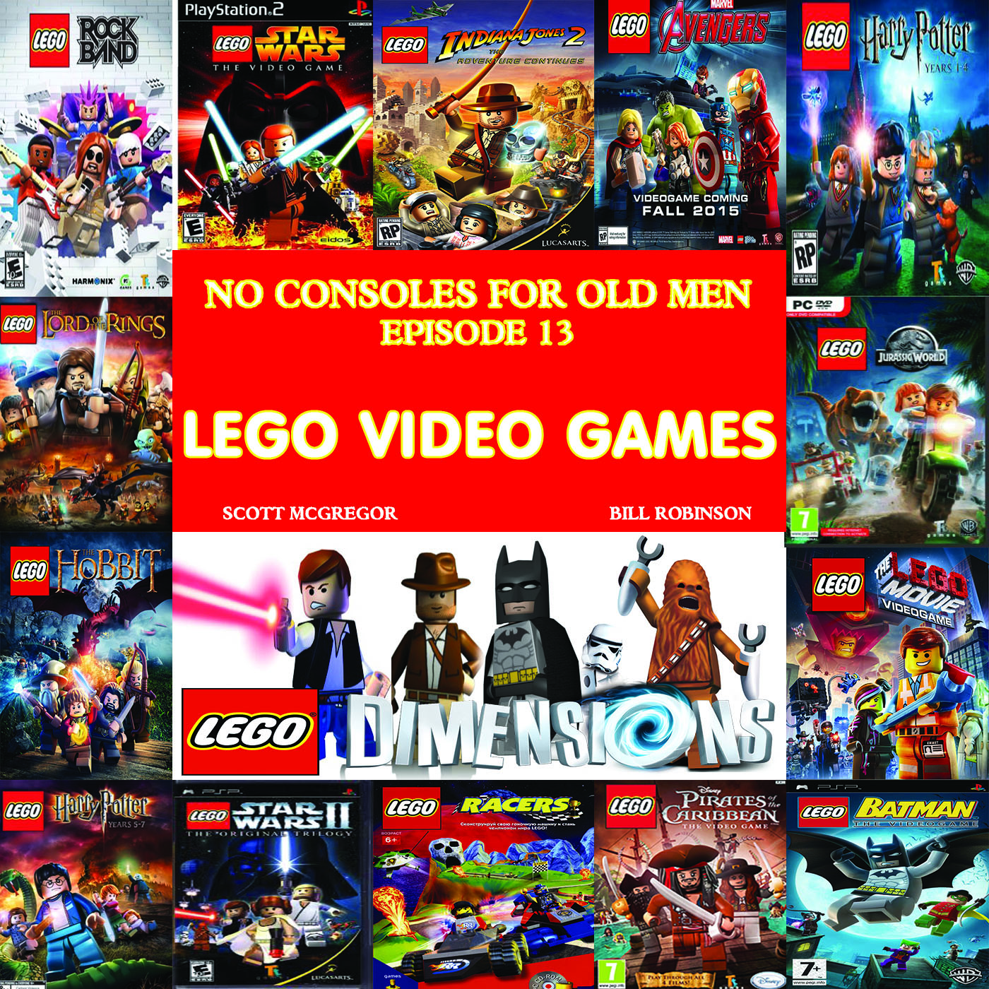 (Don't Step On The) LEGO Video Games No Consoles For Old